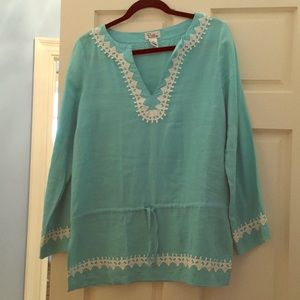 Lily Pulitzer long sleeve swimsuit cover up